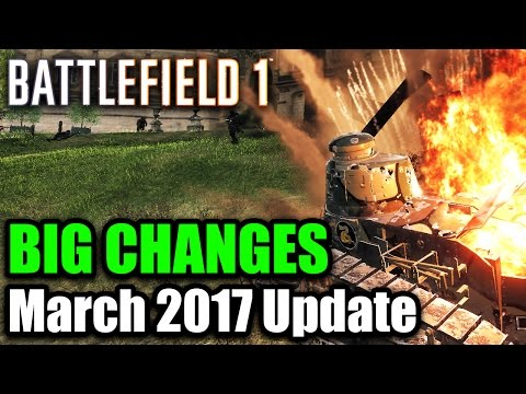 Battlefield 1   MAJOR CHANGES COMING - Patch Update Addresses Grenade Spam & More (BF1 Tips & Info)