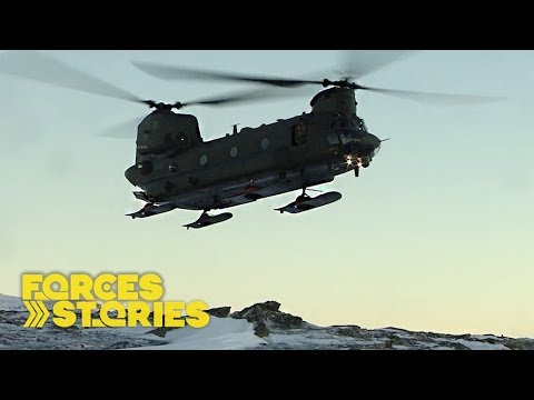 In The Freezer: Royal Marines Train To Fight In The Arctic | Forces TV