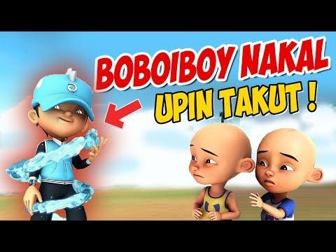 Boboiboy jadi Anak Nakal , Upin ipin Takut ! GTA Lucu