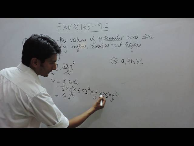 Exercise 9.2 - Question 4 (iii,iv) NCERT Solutions for Class 8th Maths Algebraic Expressions