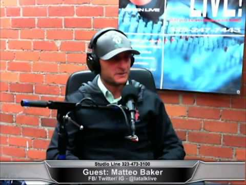 Matteo Baker on LA TALK LIVE, talking about 220 Fitness, The Most Loved Gym In Santa Monica