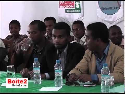 Le 1er Ministre de Madagascar et les 22 régions de Madagascar pour la formation Web & App par BOITE