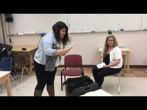 Intimate Apparel - Final Project I - Giving Actors Direction