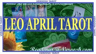 they are setting you up leo april march 2019 tarot horoscope