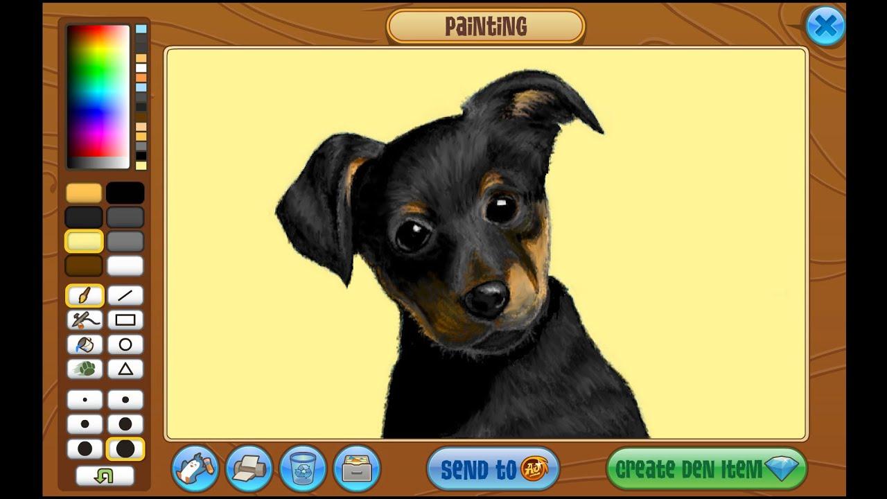 Animal Jam Art Studio: Puppy