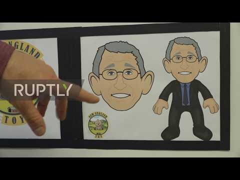"""USA: Connecticut toy company creates """"superhero"""" Dr. Fauci plush doll"""