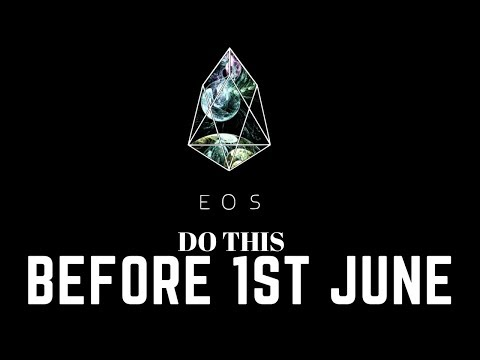 Register EOS TOKEN (ERC20) token on EOS before 1st JUNE/ DON'T KEEP EOS on an EXCHANGE
