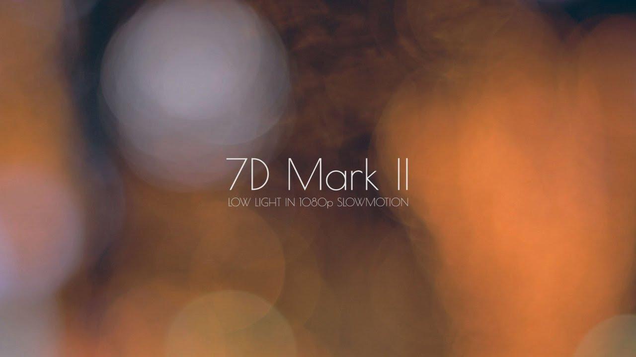canon 7d mark ii iso test