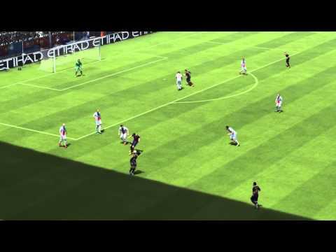 fifa14 เทคนิคการบังบอลโดยใช้ L2 หรือ LB