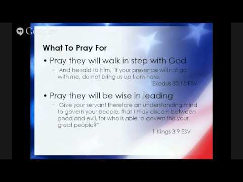 Prayer for Pastor and Church Leaders - NDP (Day 2)