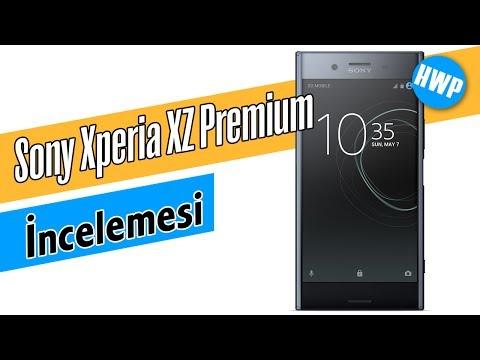 Sony Xperia XZ Premium İncelemesi