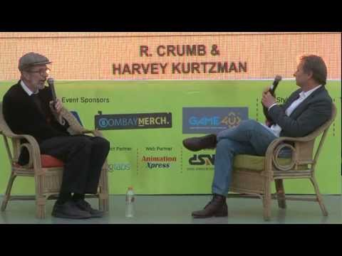 Comic Con India Special Session With Robert Crumb, conducted by Gary Groth (Part # 1)