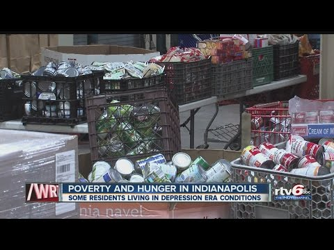 Poverty and unemployment soaring in parts of Indianapolis