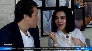 Perspektif - Metro TV - A Day With Syahrini & Reino Barack