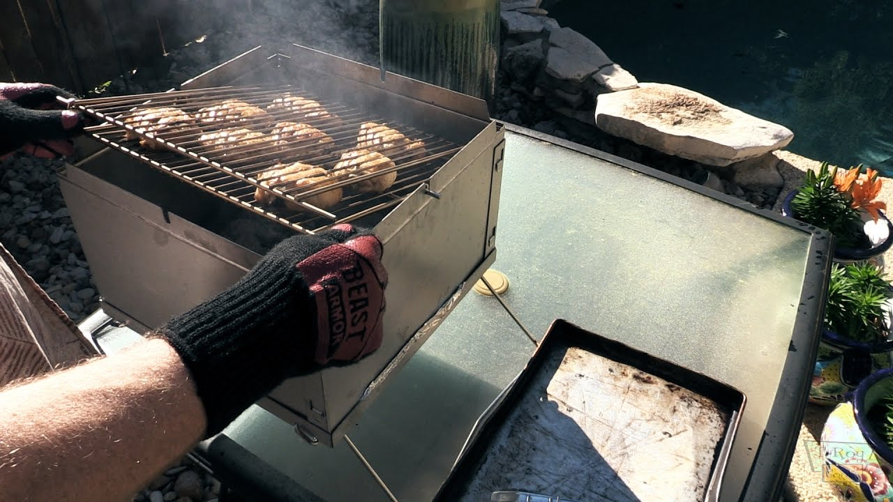 37e48bd47d663 Chicken on the Flip Flop Grill - YouTube