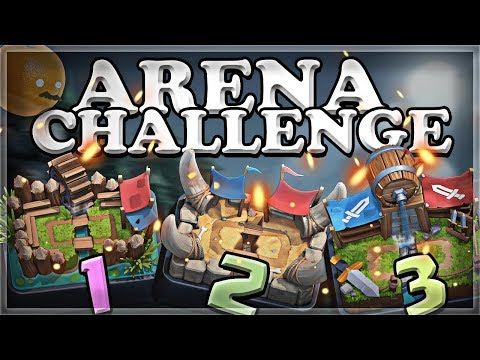 Arena Challenge 1-2-3 | Clash Royale | Part 1 🍊