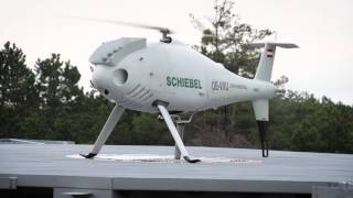 Schiebel CAMCOPTER® S-100 UAS - Moving Platform Deckfinder