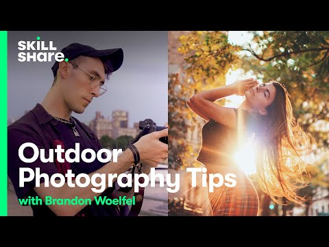 Learn Outdoor Photography Tips on a Shoot with Photographer Brandon Woelfel