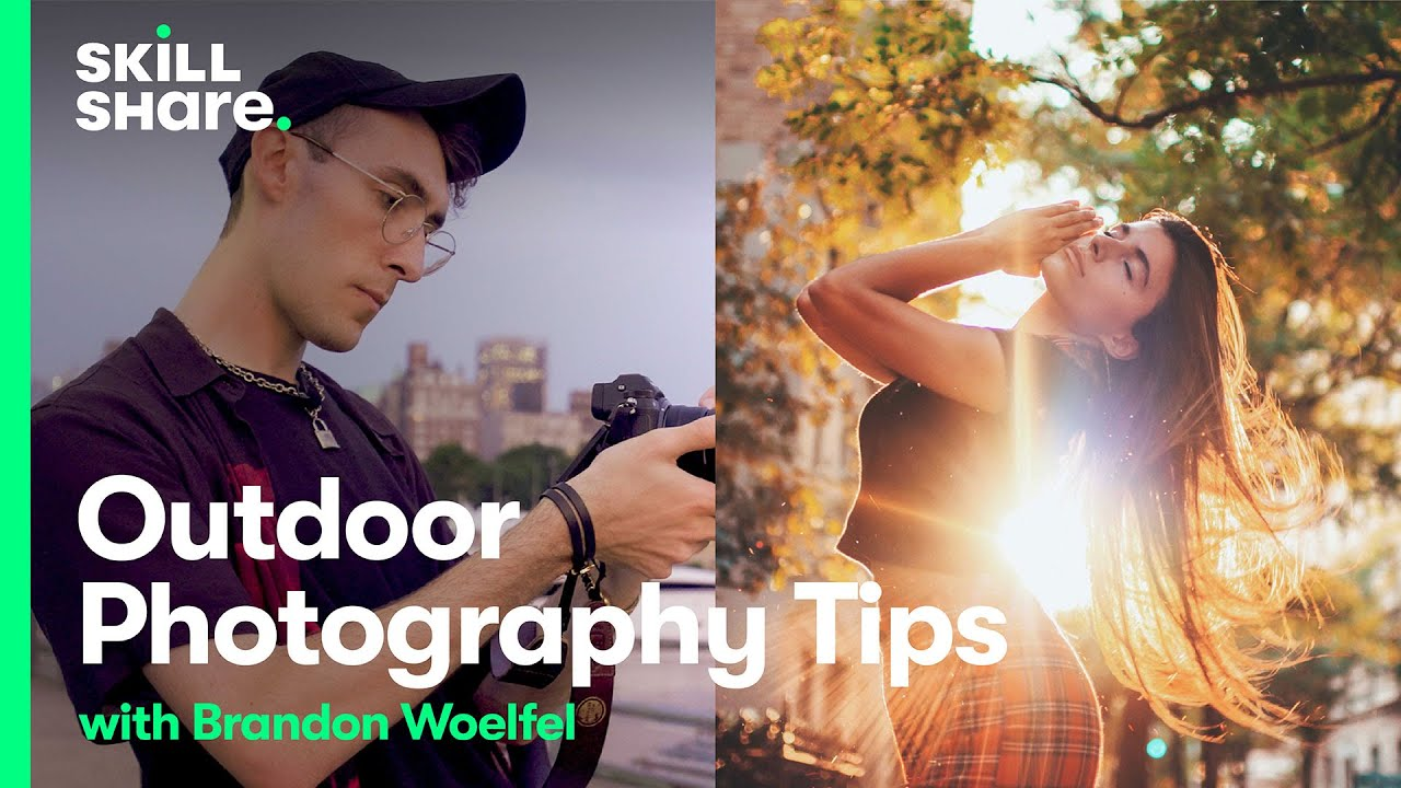 Learn Outdoor Photography Tips On A Shoot With Photographer Brandon Woelfel Youtube