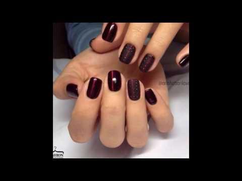 Дизайн ногтей с вишневым цветом