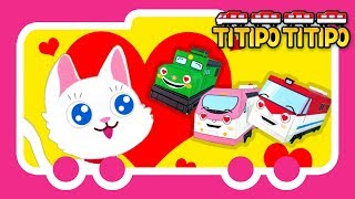 Titipo Songs l I Love Little Pussy l Tayo Nursery Rhymes l Tayo the Little Bus
