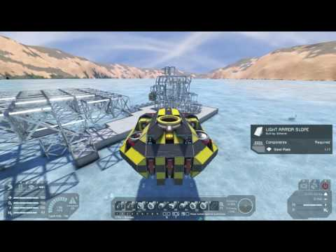 Space Engineers Learning Let's Play Part 6 - Planning and Building