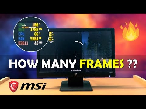 How To See FPS In Games ?? Know About CPU Usage & Many More Information !! [HINDI]