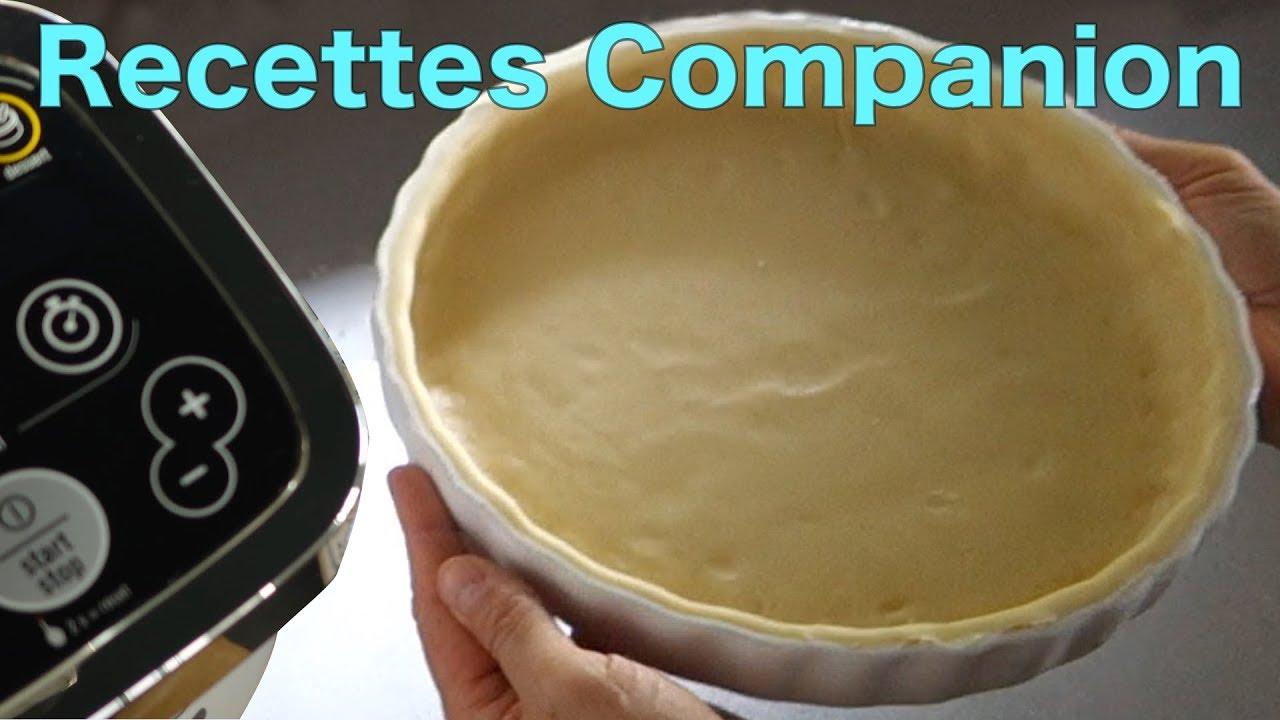 Recettes Companion Pate Brisee En 3 Minutes Youtube