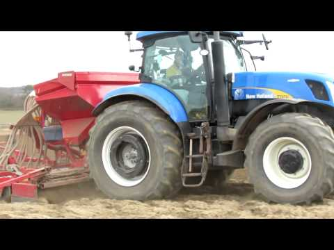 Drilling Spring Wheat