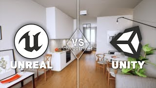 unity 3d vs unreal engine 4