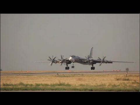 "Tu-95MC ""The Bear"" Long Range Strategic Bomber"