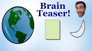 Mind blowing brain teaser - Folding paper to the moon
