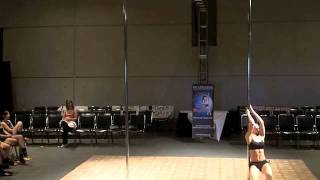Miss Georgia Pole Dance Competition 2011 Pro Compulsory Round