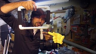 Diy Camera Rig Prototypes Pvc - Quick Fx
