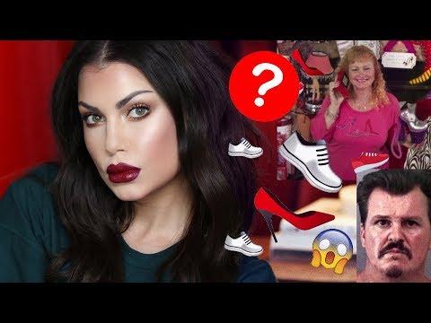GRWM Murder, Mystery and Makeup - GRWM &  15,000 Piece Shoe Collector's Murder   Bailey Sarian