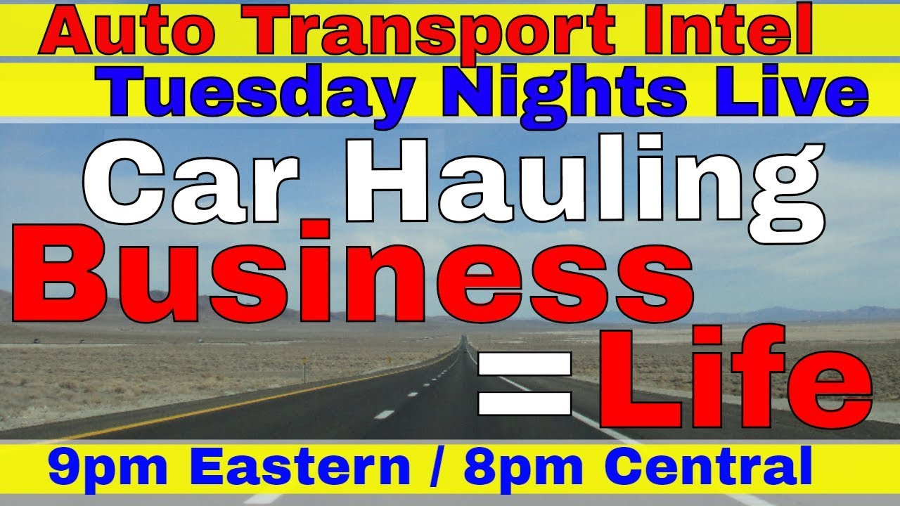 Car Hauler Business = Life | Auto Shipping Company Trucking Owner