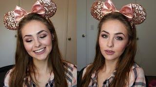 Rose Gold Cut Crease Tutorial   Mickey Ears Series