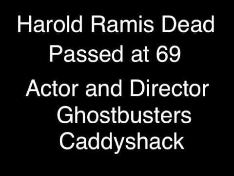 Harold Ramis Passes At 69 Ghostbusters + Caddyshack