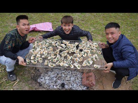 Hưng Vlog - Chuyến Đi Picnic Đáng Nhớ | Hàu Nướng Mỡ Hành