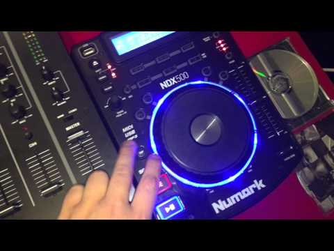 Numark NDX500 & Numark M6 Usb Mixer ( My Setup Overlook)