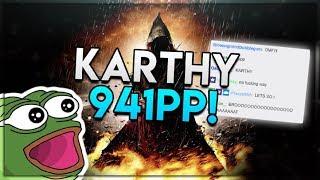 osu! Karthy GYZE - HONESTY [DISHONEST] HDHR 99.76 FC #1 941pp NEW STD PP RECORD!