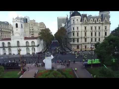 Drones Plaza de Mayo by 4kdron.com