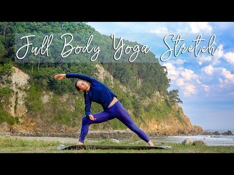 Best Full Body Yoga Stretching Routine after hiking, running, intense workout