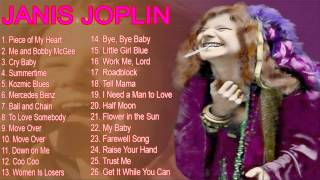 Janis Joplins Greatest Hits | Best Of Janis Joplin [Full Album]