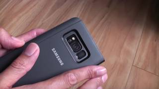 Samsung Galaxy S8+ Clear View Stand Case Review