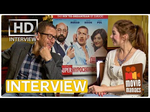 Dany Boon on SUPERHYPOCHONDER and real men