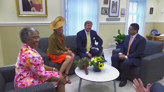 Koningspaar op Curaçao