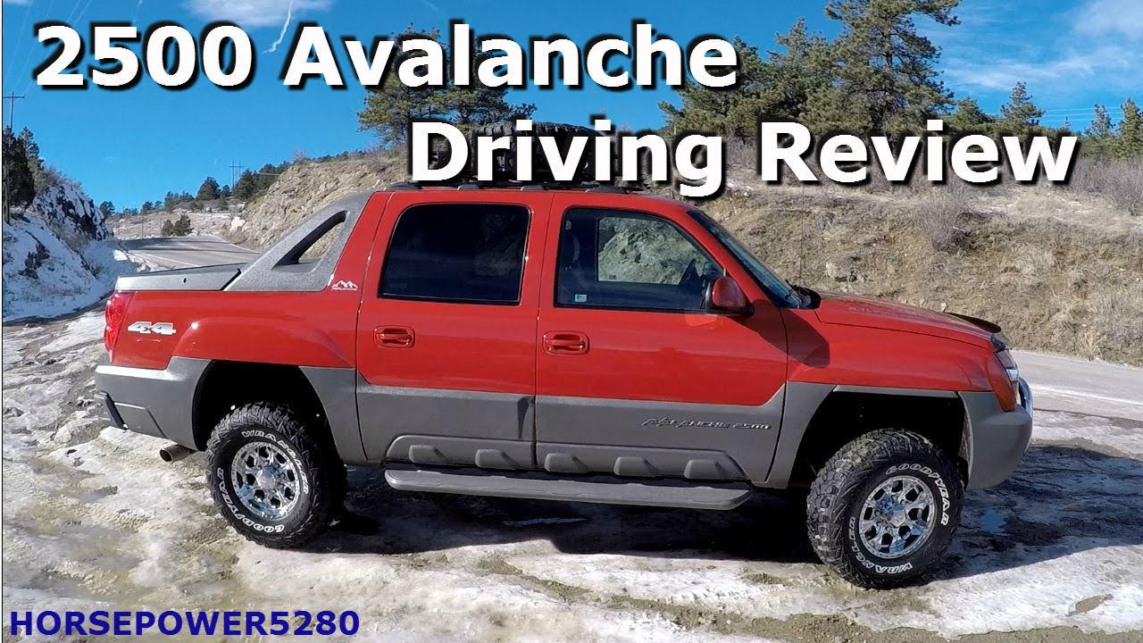 Avalanche 2002 chevy avalanche lift kit : Chevy 2500 Avalanche Review - YouTube