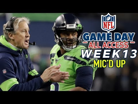 "NFL Week 13 Mic'd Up, ""I run scared so I'm fast enough!"""