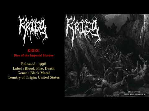 Krieg (US) - Rise of the Imperial Hordes (1998) Full Album